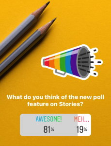 How to use Instagram Polls Stories