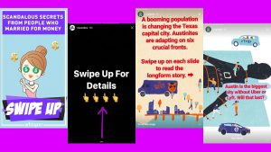 How to use Instagram stories links in stories
