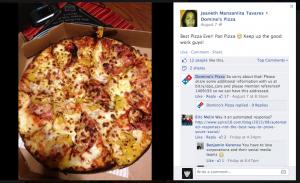 Dominos social media automated response fail