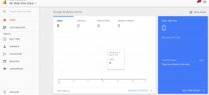 Google analytics measure website traffic