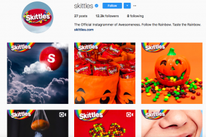 Skittles social media marketing