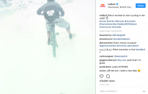 Red Bull social media marketing