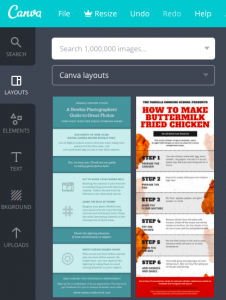 How to create free infographics