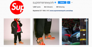 Supreme new york social media marketing