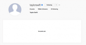 Taylor Swift Instagram archives strategy