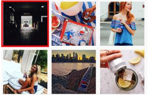Consistent visual theme social media instagram archives