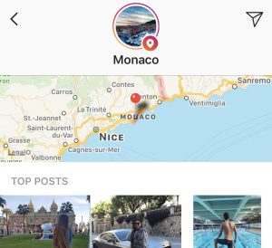 How to use Instagram geolocations