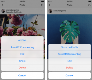 How to use Instagram archives