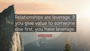 Gary Vaynerchuk quote provide value
