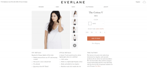 everlane transparency marketing