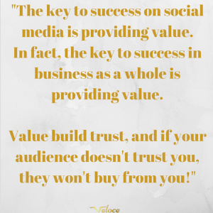 Why you should provide value in business