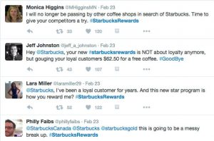 Customer loyalty fail social media