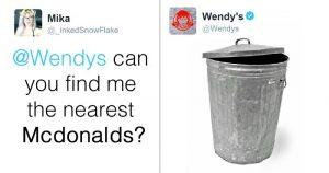 Wendy's social media customer service