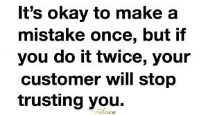 Mistakes quote social media marketing