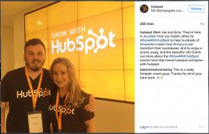 showcase brand culture social media