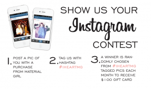 Instagram contest drive sales