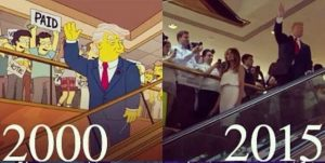 Simpsons predict Trump