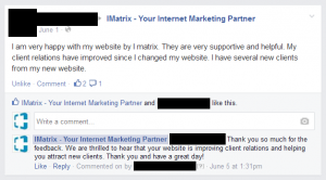 Customer feedback social media