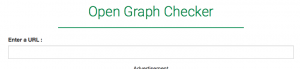 Opengraph checker