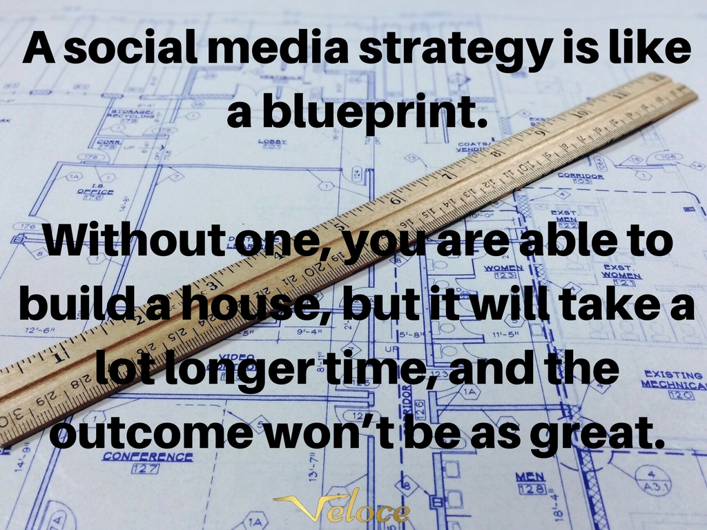 A social media strategy as a blueprint without one you for What does it take to build a house