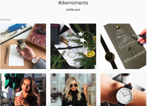 User-Generated content hashtag campaign