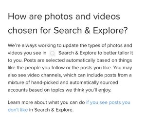 How to get featured on Instagram explore page