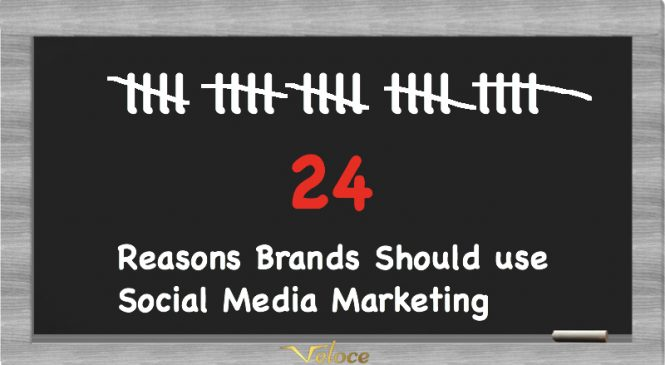 24 Reasons Brands Should use Social Media Marketing