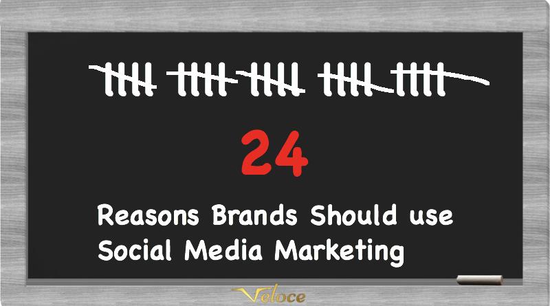 24 Reasons Brands Should use Social Media Marketing