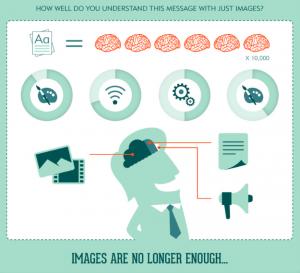 Human brain visual content