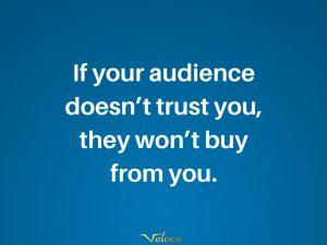 Customer trust quote