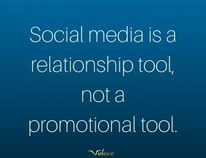 Social media relationship tool