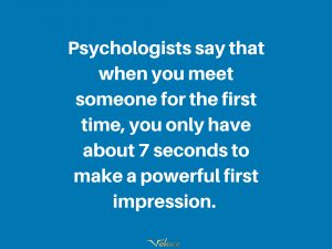 Power of the first impression