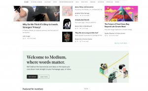 Medium blog posts
