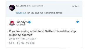 Wendy's social media strategy