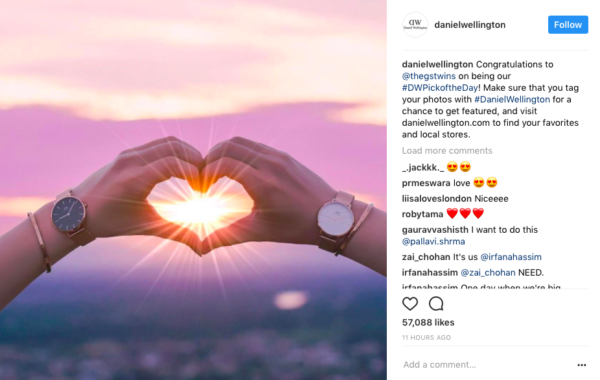 user-generated content Instagram
