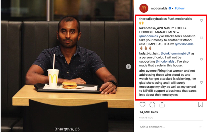 Social media customer complaints
