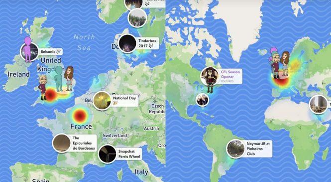 Snapchat Kartan: Allt Du Behöver Veta Om SnapMap!